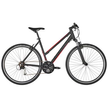 Bicicletta Ibrida SERIOUS CEDAR Donna Nero 2019